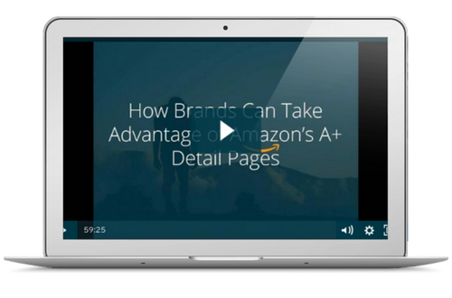 The Brand's Webinar to Amazon A+ Content Optimizations [Video]