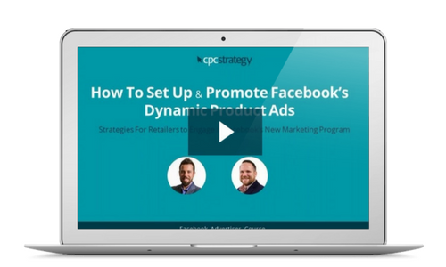 How To Set Up & Promote Facebook's Dynamic Product Ads