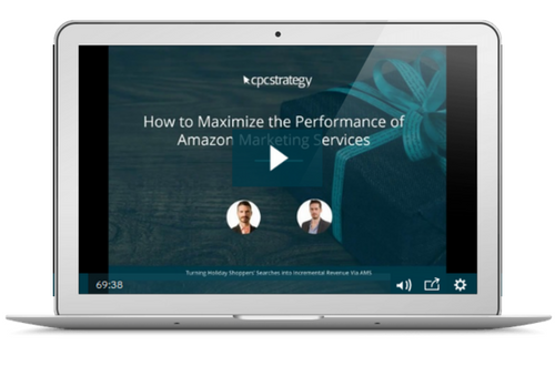 How to Maximize the Performance of Amazon Marketing Services [Video]
