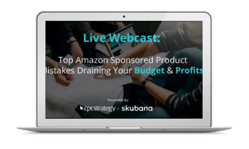 amazon sponsored products mistakes webinar