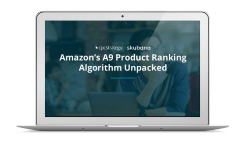 http://www.cpcstrategy.com/amazons-a9-product-ranking-algorithm-unpacked-recording/